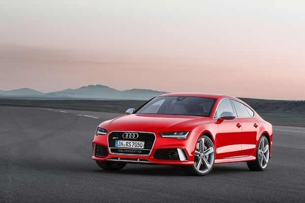 The new Audi RS 7 Sportback is available in late 2014