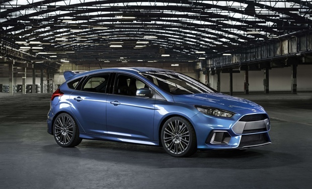 New Ford Focus RS Side view