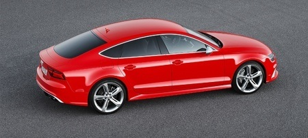 The Audi RS 7 facelift has been completed