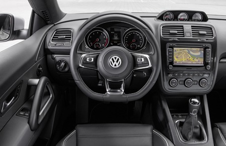 Inside the new Volkswagen Scirocco