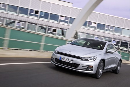 The new Volkswagen Scirocco