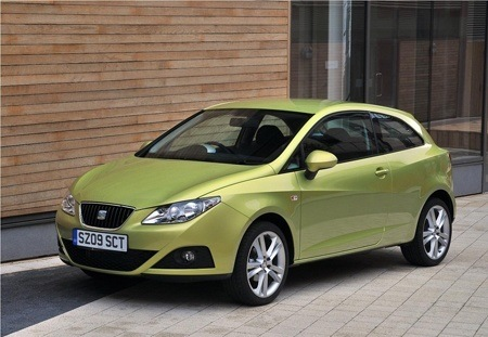 SEAT Ibiza Sports Coupe parked up ready to go
