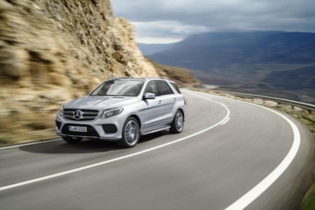 The new Mercedes GLE
