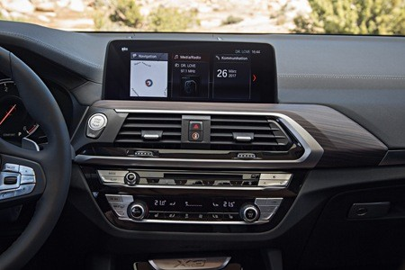 The all-new BMW X3 infotainment