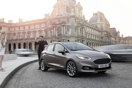 The all new Ford Fiesta front view