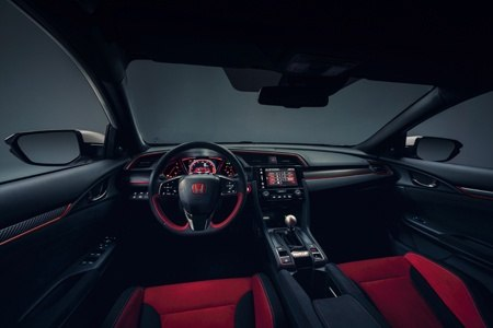 The all new Honda Civic Type R interior