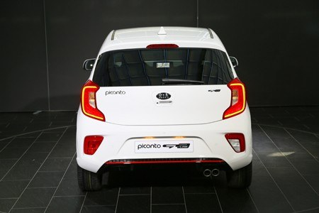 The all-new Kia Picanto city car rear view