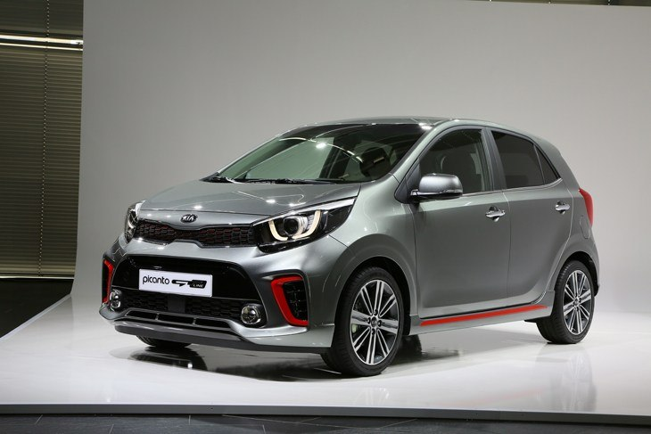 The all-new Kia Picanto city car