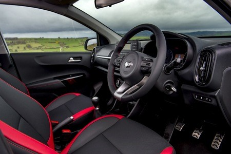 The all-new Kia Picanto GT Line-S interior