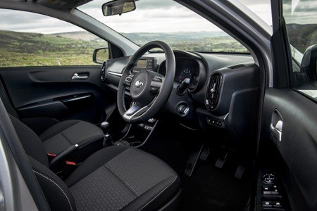 The all-new Kia Picanto interior