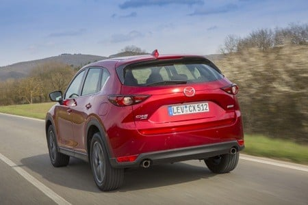 The All new Mazda CX-5 rear view