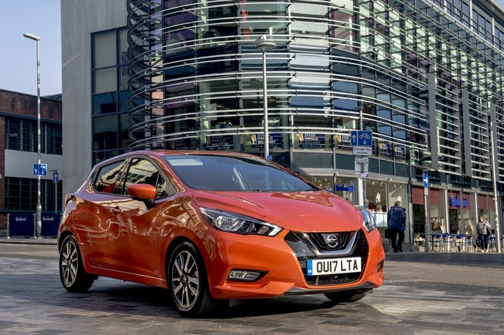 The all-new Nissan Micra is available to order for leasing from Nationwide Vehicle Contracts