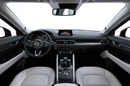 The all-new second-generation Mazda CX-5 interior