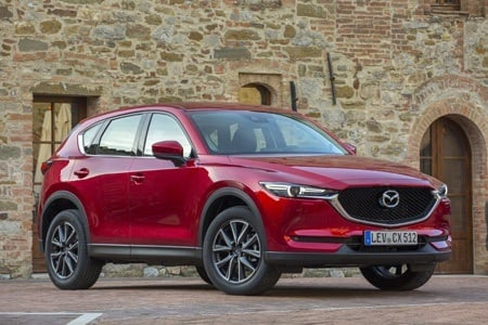 The all-new second-generation Mazda CX-5