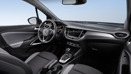 The all-new Vauxhall Crossland X interior