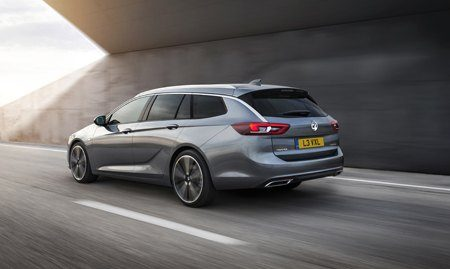 The all-new Vauxhall Insignia Sports Tourer rear view