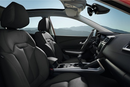 The cabin of the all-new Renault Kadjar