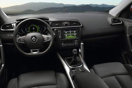 The dashboard of the all-new Renault Kadjar