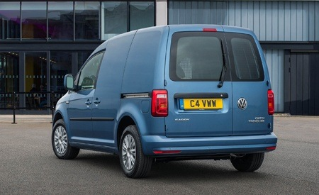 The new 2018 Volkswagen Caddy rear view