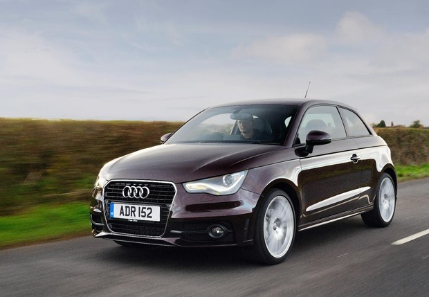The new Audi A1 on the road