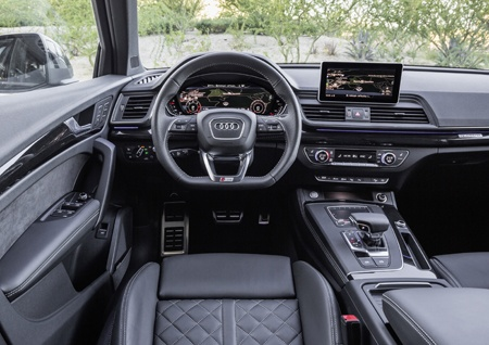 The new Audi Q5 interior