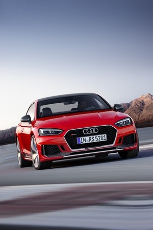 The new Audi RS 5 front view