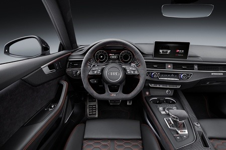 The new Audi RS 5 interior