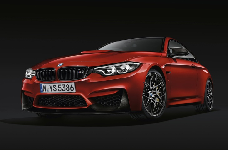 The new BMW 4 Series front view