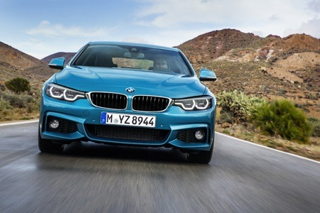 The new BMW 4 Series on the road