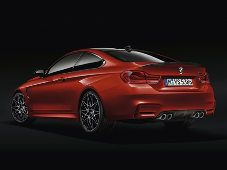 The new BMW 4 Series rear view