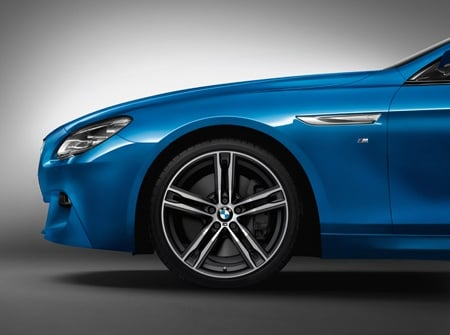 The new BMW 4 Series tyre view