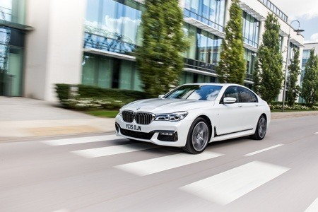 The new BMW 7 Series hits the road