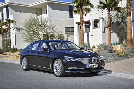 The new BMW M760Li xDrive on the road