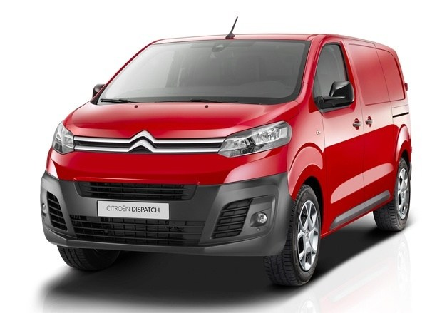 The new Citroen Dispatch