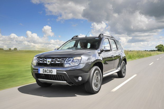 The new Dacia Duster on the road