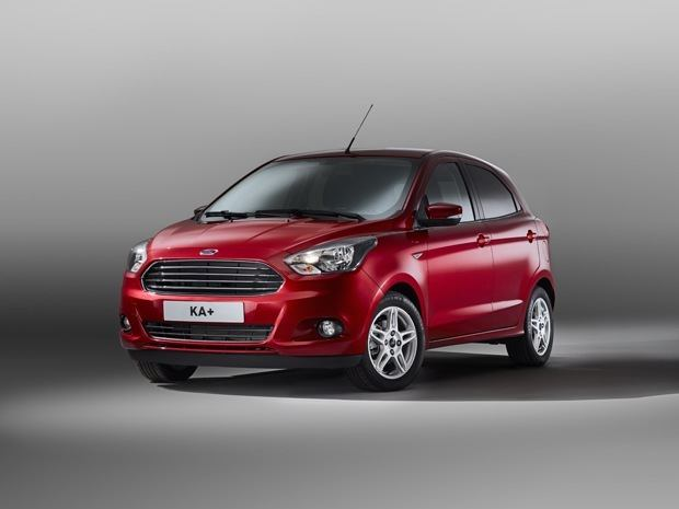 The New Ford Ka+ in the studio