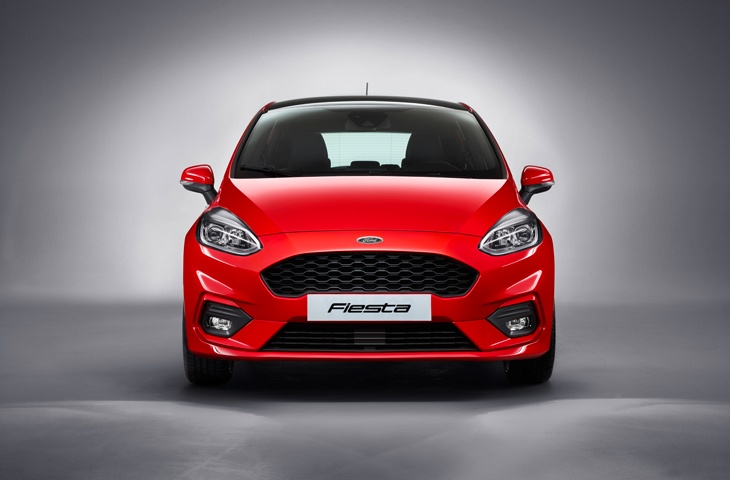 The new generation Ford Fiesta ST-Line