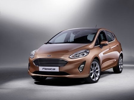 The new generation Ford Fiesta Titanium