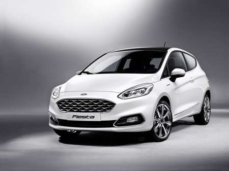 The new generation Ford Fiesta Vignale