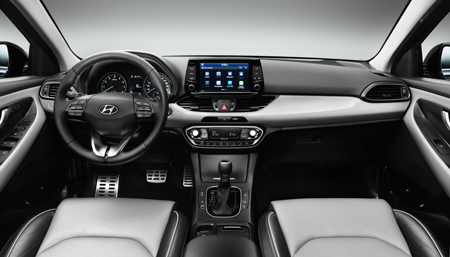 The new Hyundai i30 interior
