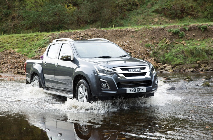 The new Isuzu D-Max
