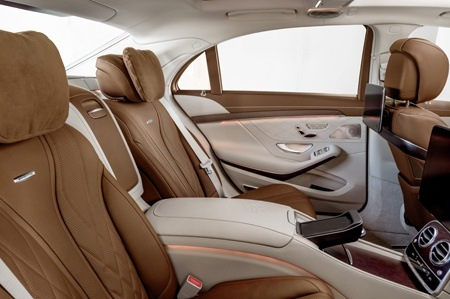 The new Mercedes-Benz S Class interior