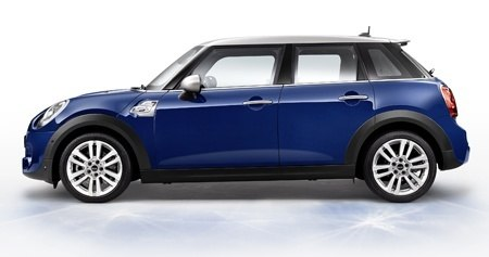 The new MINI Seven Side View