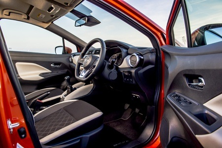 The new Nissan Micra 2017 interior