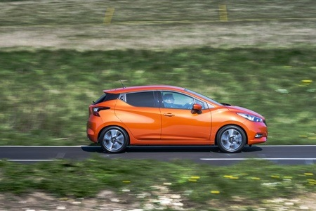 The new Nissan Micra 2017 side view