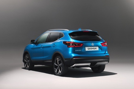 The new Nissan Qashqai Rear
