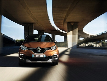The new Renault Captur front view