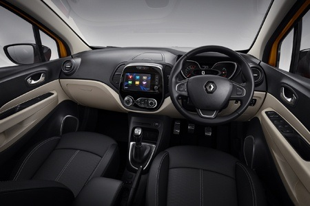 The new Renault Captur interior