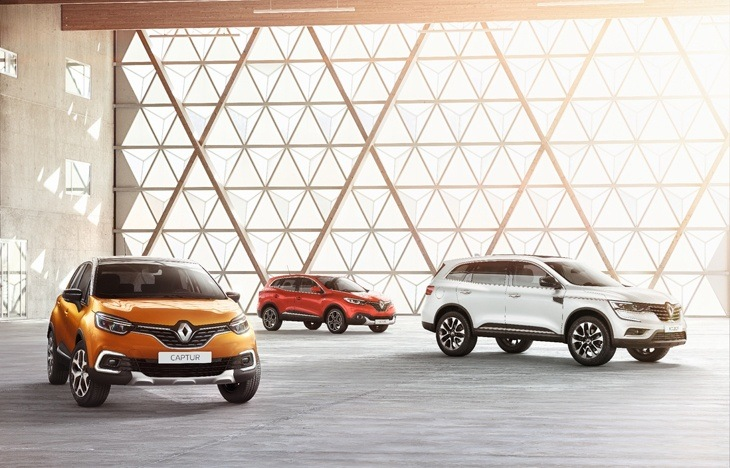 The New Renault Captur makes its Debut in Geneva