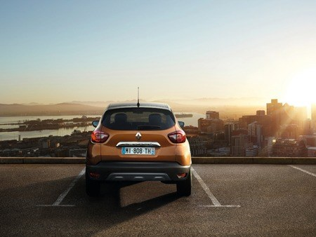 The new Renault Captur rear view